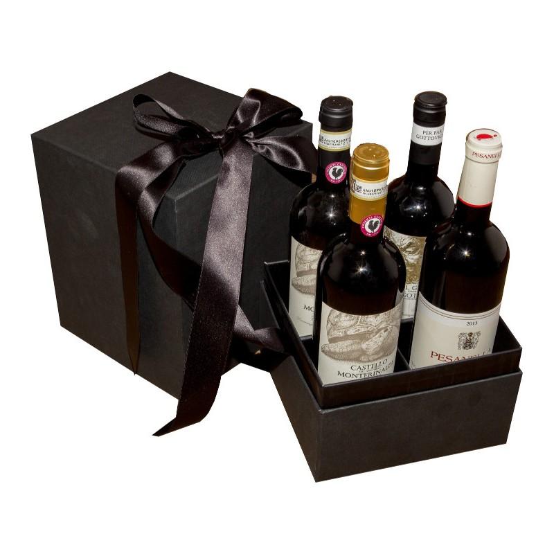 Scatola regalo da 4 bottiglie